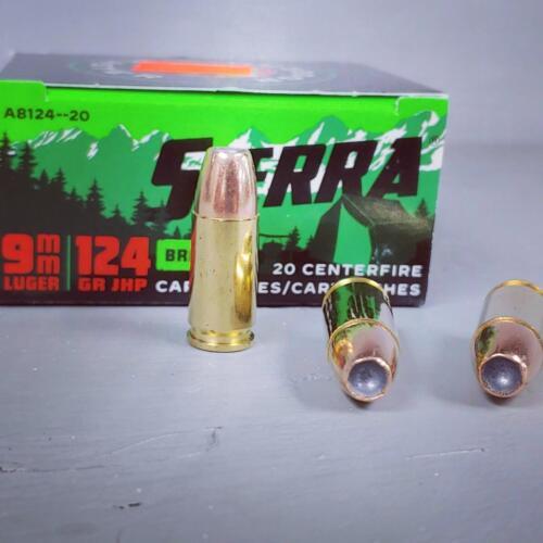 Sierra JHP 9mm