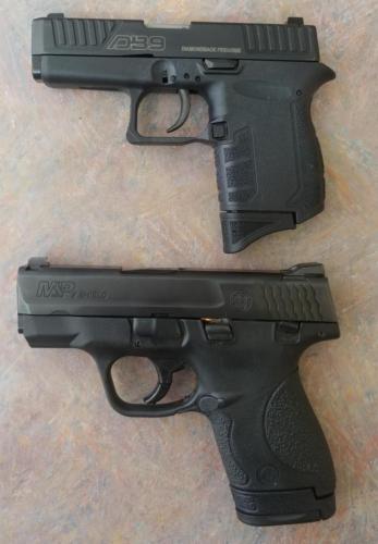 Diamondback DB9 vs Smith & Wesson Shield